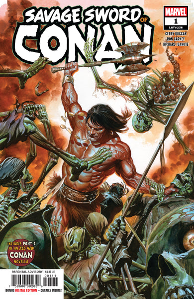 SAVAGE SWORD OF CONAN #1, New, First print, Marvel Comics (2019)
