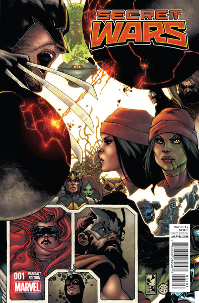 SECRET WARS #1 (OF 9), BIANCHI CONNECTING VARIANT (2015)