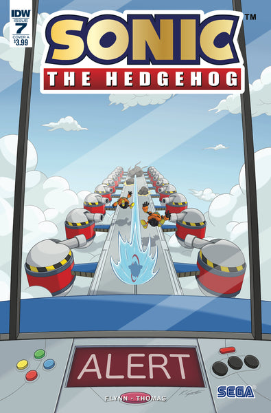 SONIC THE HEDGEHOG #7, FOIL COVER A, IDW (2018)