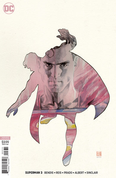 SUPERMAN #3, DAVID MACK VARIANT, New, First print, DC UNIVERSE (2018)