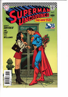 SUPERMAN UNCHAINED #1, GARCIA 1:50 SILVER AGE VARIANT (2013)