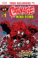 TRUE BELIEVERS ABSOLUTE CARNAGE MIND BOMB #1, New, Marvel (2019)