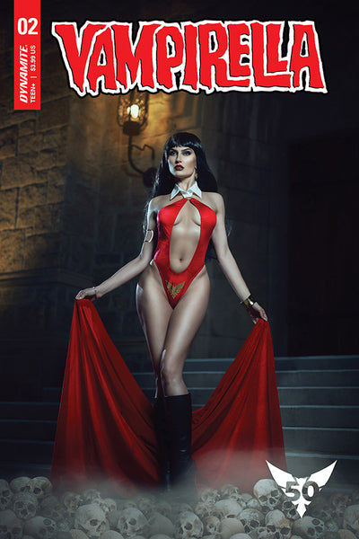 VAMPIRELLA #2, COVER E COSPLAY, New, First print, Dynamite (2019)