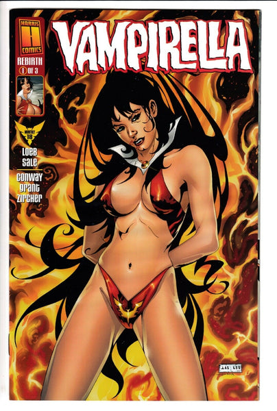 VAMPIRELLA MONTHLY #18, Harris (1999)