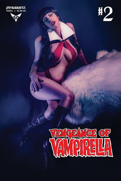 VENGEANCE OF VAMPIRELLA #2, COVER D COSPLAY, Dynamite (2019)
