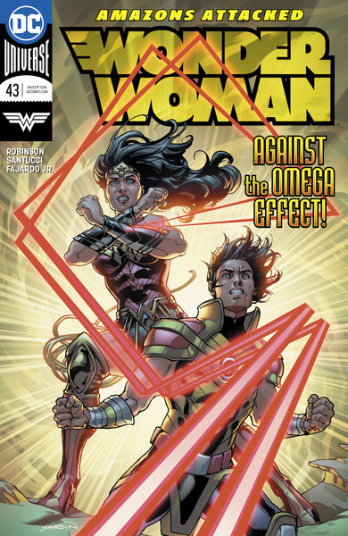 WONDER WOMAN #43, New, First print, DC UNIVERSE (2018)