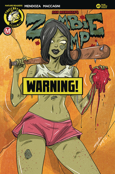 ZOMBIE TRAMP ONGOING #41, CVR D KING RISQUE, New, Action Lab (2017)