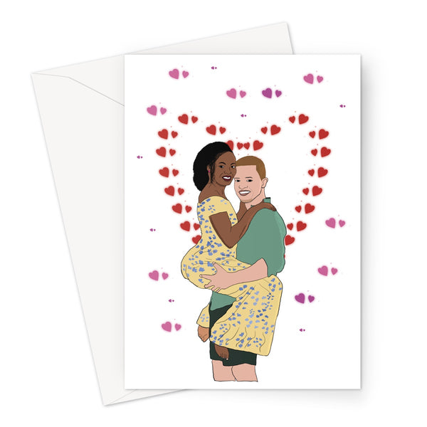 Hold You Greeting Card