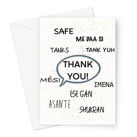 Thank You Card - Expressive Shades