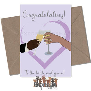 Wedding Cheers - Expressive Shades