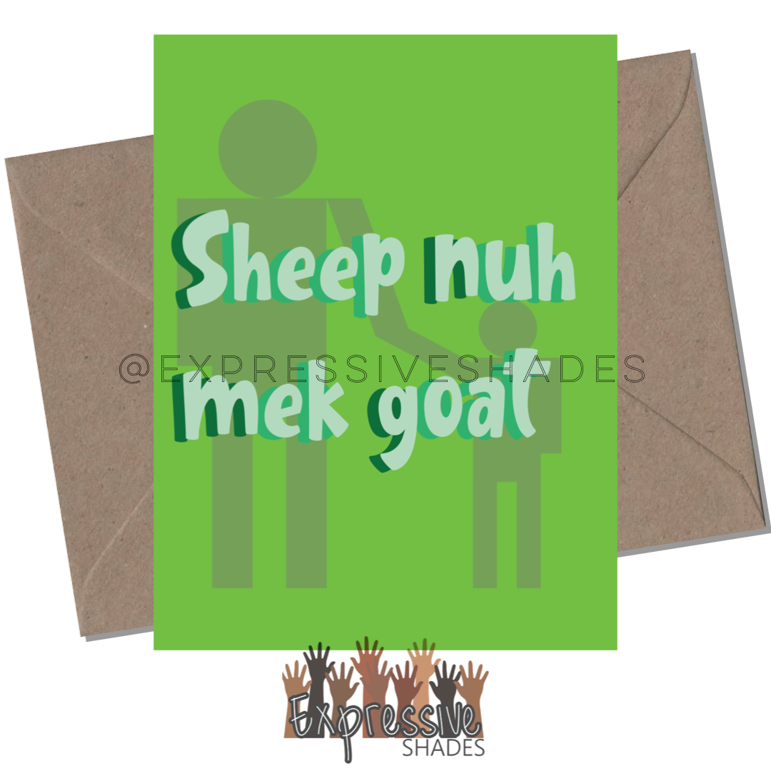 Sheep Nuh Mek Goat - Expressive Shades