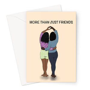 More Than Just Friends Greeting Card