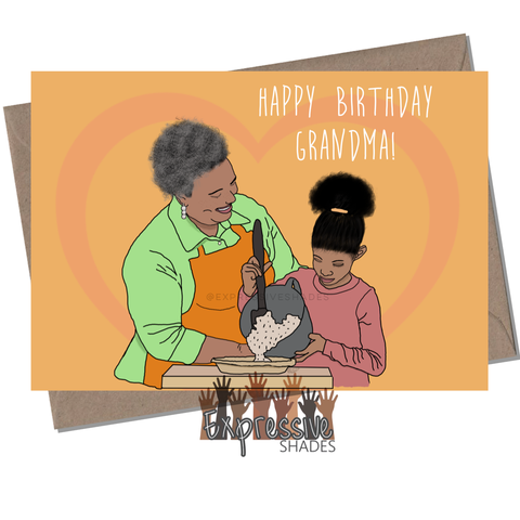 Grandma's Birthday Card