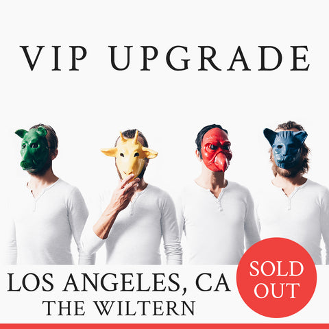 02/22/2019 | Los Angeles, CA at The Wiltern | VIP sales have ended for this date.