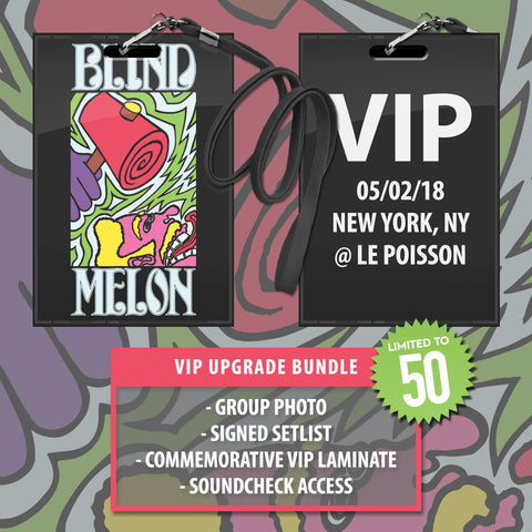05/02/2018 | New York, NY at Le Poisson | VIP sales have ended for this date.