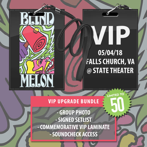 05/04/2018 | Falls Church, VA at State Theater | VIP sales have ended for this date.