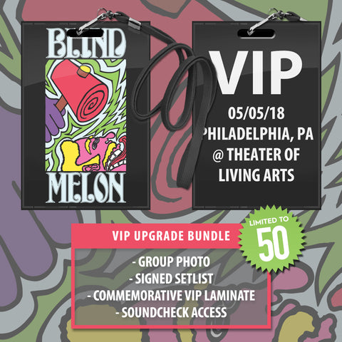 05/05/2018 | Philadelphia, PA at Theater of Living Arts | VIP sales have ended for this date.