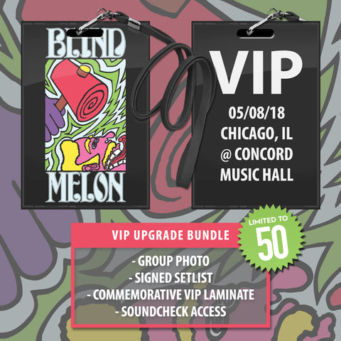 05/08/2018 | Chicago, IL at Concord Music Hall | VIP sales have ended for this date.