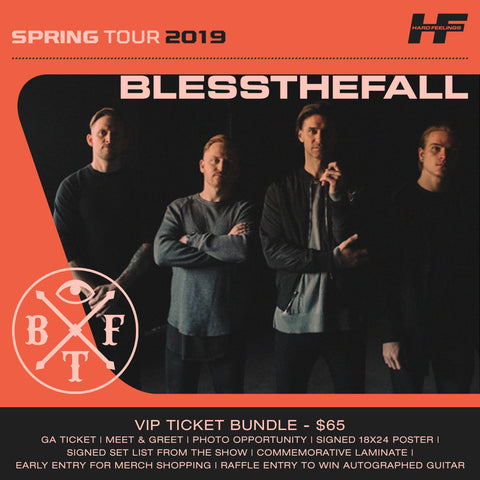 06/08/2019 | Anaheim, CA at Chain Reaction | Blessthefall