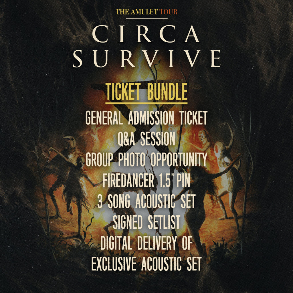 04/22/2018 | Baltimore, MD at Rams Head Live! | Circa Survive