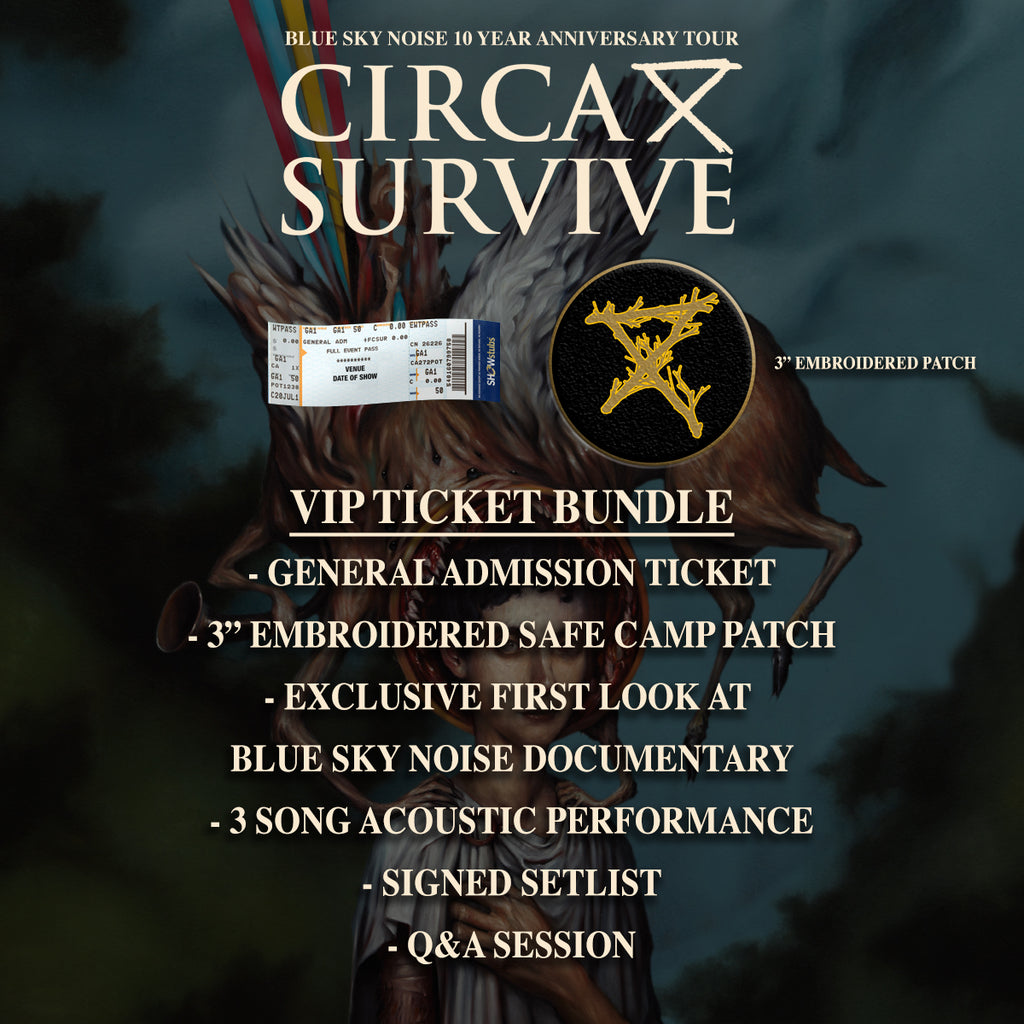 05/28/2020 | San Antonio, TX at Vibes Event Center | Circa Survive