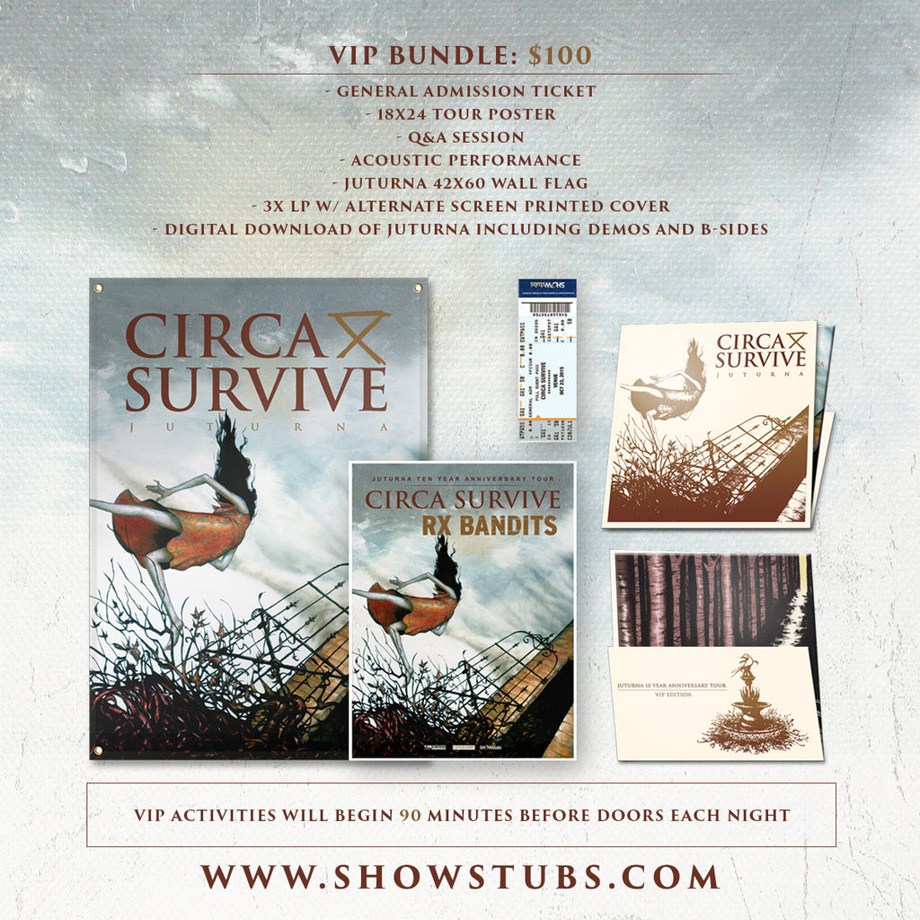 11/01/2015 | Chicago, IL at Riveria Theatre | VIP sales have ended for this date.