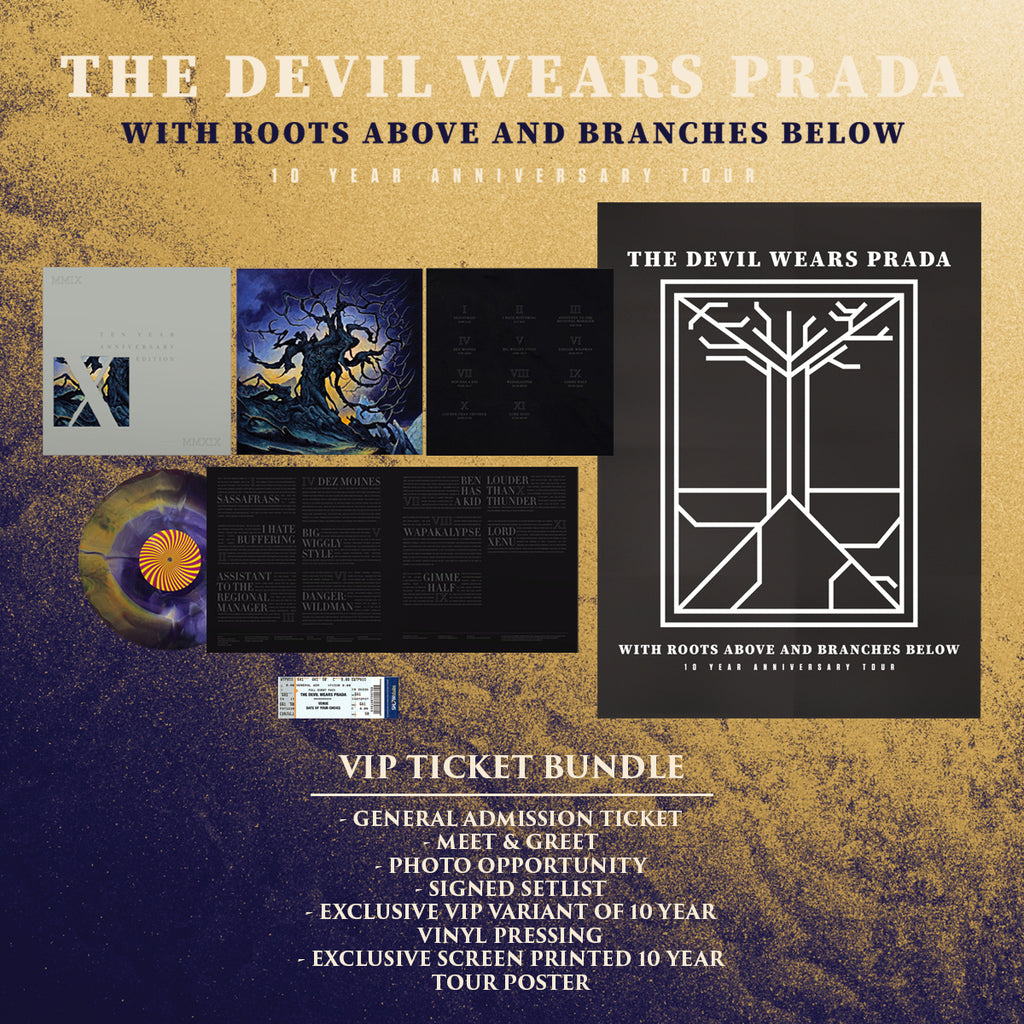 12/01/2018 | Pomona, CA at The Glass House | The Devil Wears Prada