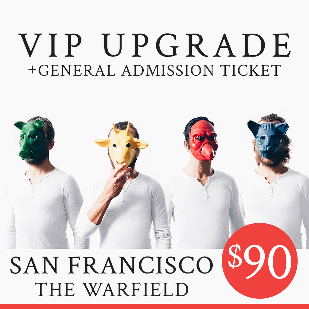 02/24/2019 | San Francisco, CA at Warfield Theater | VIP sales have ended for this date.