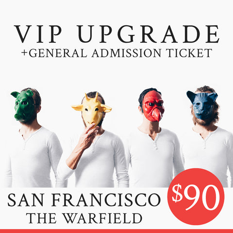 02/24/2019 | San Francisco, CA at Warfield Theater | The Sound of Animals Fighting