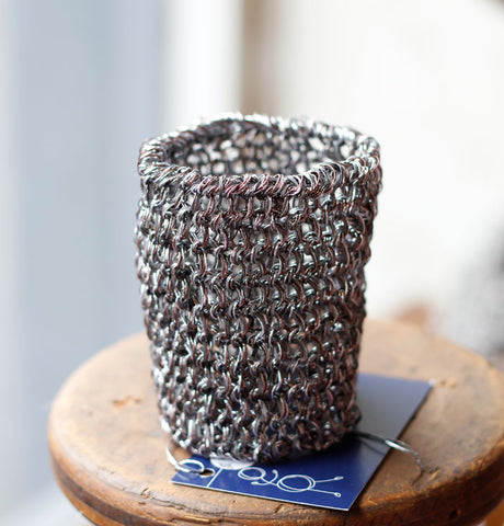 Metallic Cuff by Teresa Dair