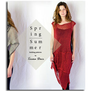 (Ebook)Spring/Summer Knitting Patterns by Teresa Dair