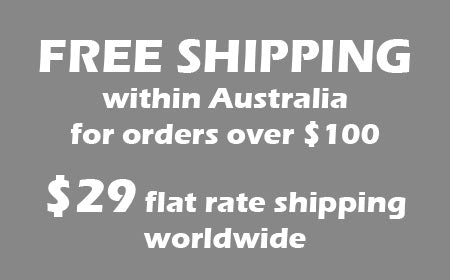 free shipping for orders over $100 within australia