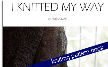 i knitted my way by teresa dair knitting pattern book dairing yarn melbourne