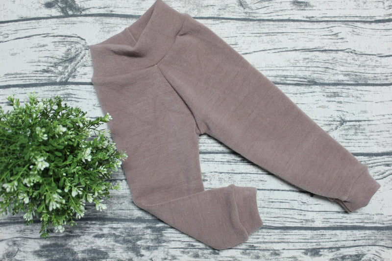 Joggers en laine - INSEAM LONG - LATTE Taille Moyen/Medium