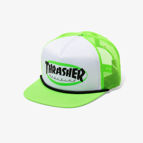 Thrasher Ellipse Logo Hat (Green)