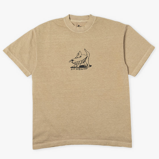 510 SHARKDOG TEE (TAN/BLACK)