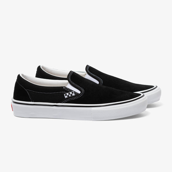 VANS SKATE SLIP-ON (BLACK/WHITE)