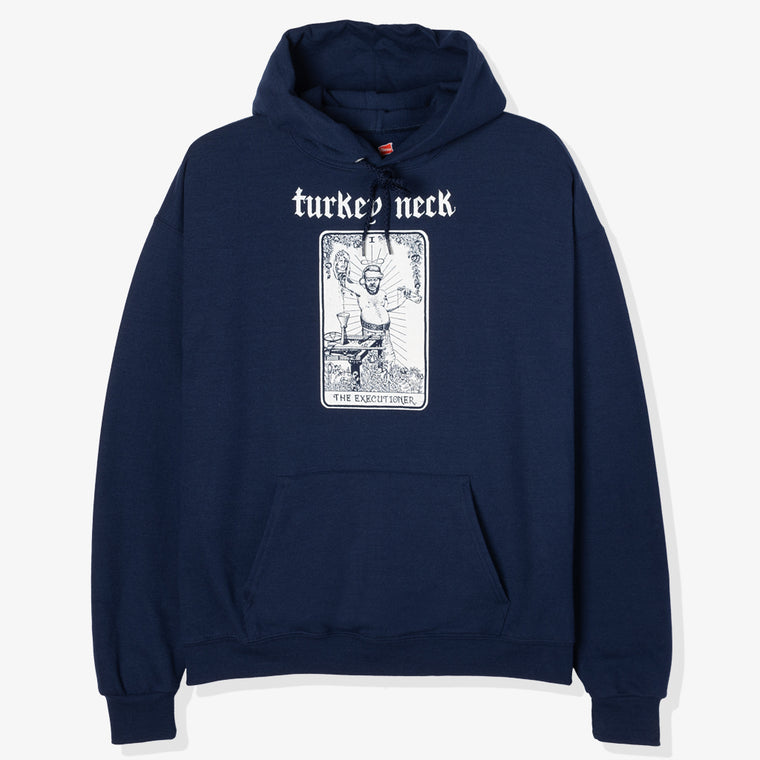 TURKEY NECK YOU AXED FOR IT HOODY (NAVY)