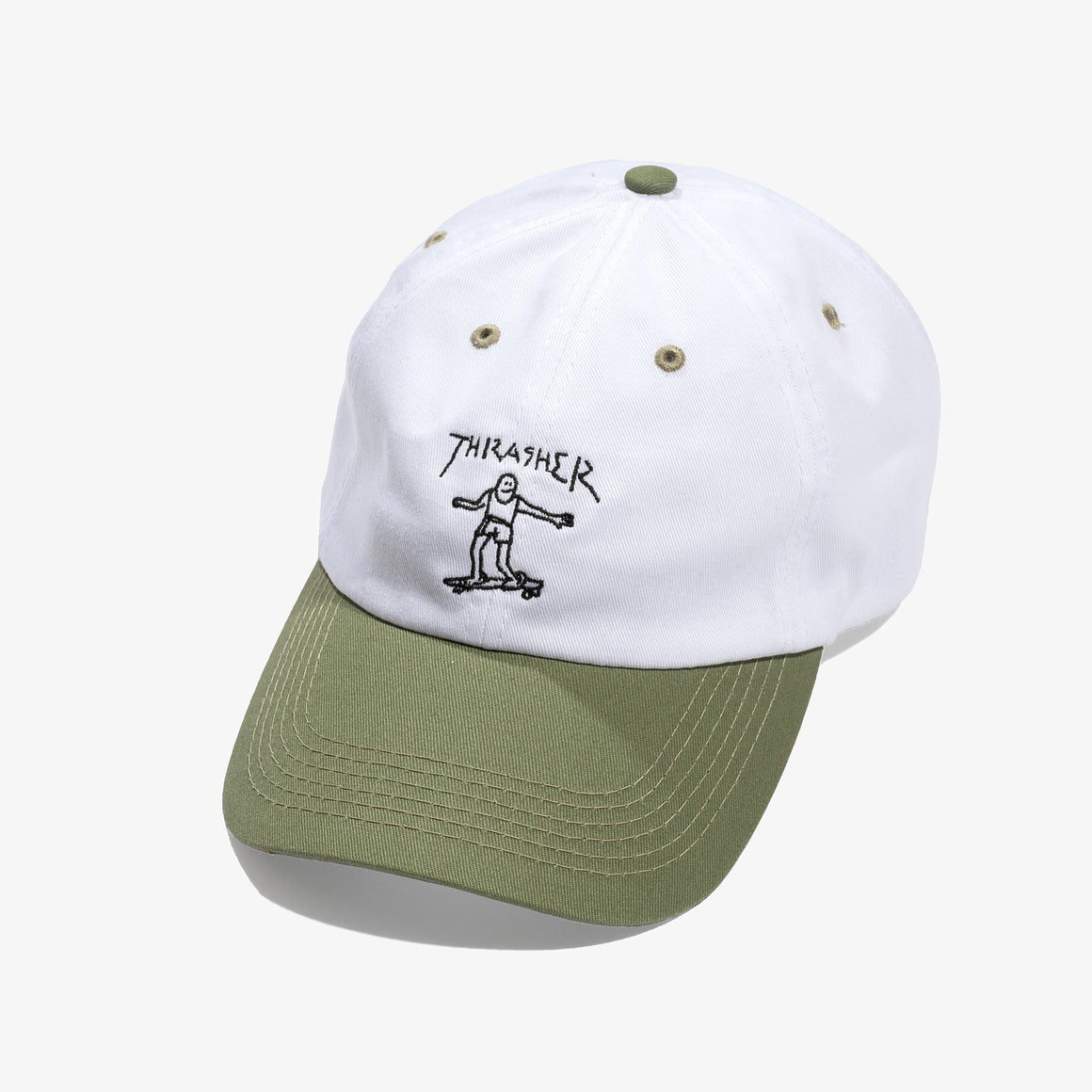 THRASHER GONZ OLD TIMER HAT (WHITE)