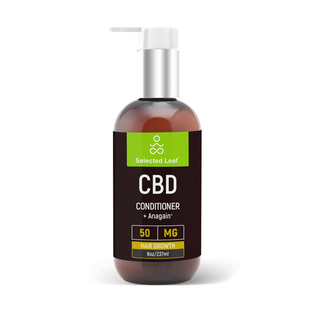 Super  Powerful Hair Conditioner with 50mg of pure CBD  + Anagain - Selected Leaf