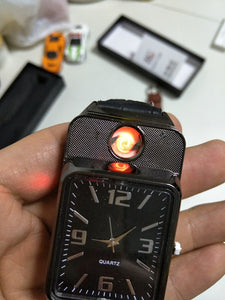 Windproof flameless cigarette lighter