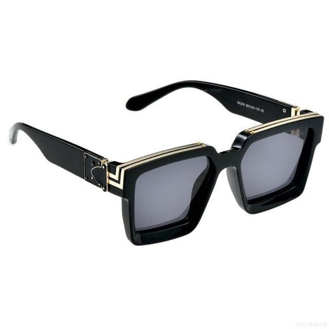 Square luxury unisex sunglasses