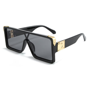 Retro square unisex sunglasses