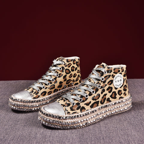 Rivets hippy sneakers