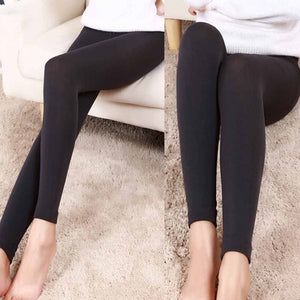 Plush cashmere leggings