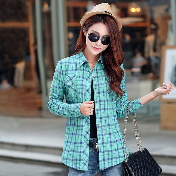 Desperate kraft velvet plaid jacket shirt