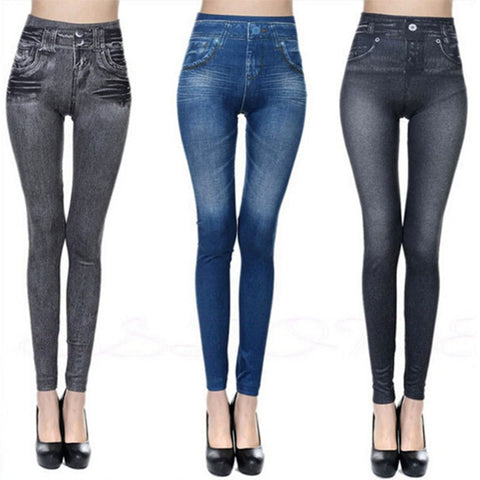 Desperate kraft denim jeans leggings