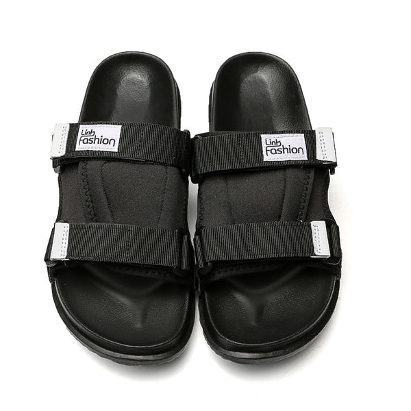 Soft light rubble slide slippers (Male)