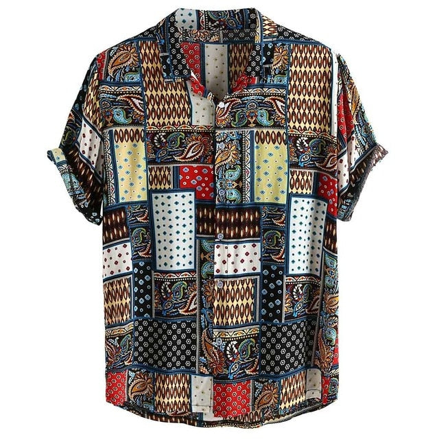 New Haven vintage printed short sleeve shirt