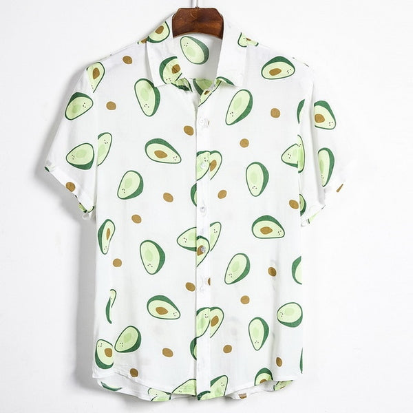 Good Times Colorful Nature Printed Shirt